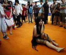 ชาวจีน จวกยับ ผีสาวเปลือยกาย โผล่ในงานการ์ตูน