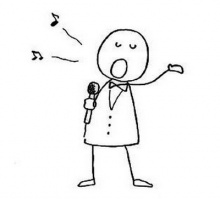 การฝึกร้องเพลงแบบง่าย ๆ