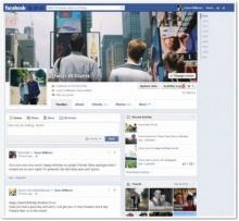 Facebook ทดสอบหน้า Timeline แบบใหม่ เรียงโพสต์เป็นคอลัมน์เดียว