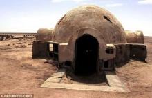 ซากสถานที่ถ่ายทำหนังสตาร์วอร์ในแอฟริกากลาง