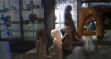 พิศวงรูปสลักโบราณอียิปต์หมุนเองได้