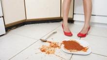ความเชื่อ กฎห้าวินาที หลังทำอาหารตกพื้น