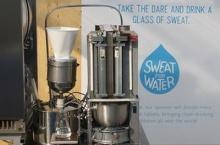 คิดค้นเครื่องเปลี่ยนเหงื่อเป็นน้ำดื่ม