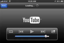 แอพ Youtube จะให้ดูวีดีโอแบบออฟไลน์