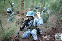 เปิดภาพเบื้องหลัง ฝึกเข้มข้น นาวิกโยธินหญิง เมืองจีน