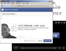 ระวัง ข่าว R.I.P ใน Facebook หลอกลวงเรื่องคนดังเสียชีวิต เผลอคลิ๊ก สร้างความเสียหาย!