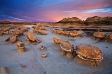 ทุ่งหินบิสไท ทุ่งหินร้างโบราณในรัฐนิวเม็กซิโก