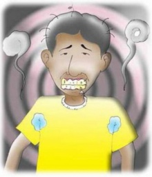 โรคกลิ่นตัวเหม็น