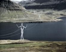 Land of Giants เสาไฟฟ้าประหลาดที่ไอซ์แลนด์
