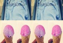 เก๋ไก๋! ไอศกรีม อัจฉริยะ เลียปุ๊ปเปลี่ยนสีปั๊ป