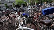 ฉลาดล้ำ! ที่จอดจักรยานสุดไฮเทคของพี่ยุ่น