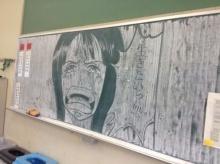 ศิลปะเจ๋งบนกระดานดำ !! ภาพการ์ตูนสุดเจ๋งงง