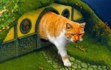 ทาสแมวต้องดู! บ้านแมวสไตล์ฮอบบิท เอาใจเหมียว