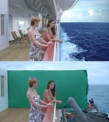 ทึ่ง!! 13 ภาพเอฟเฟค Before-After จากหนังฮอลลีวู้ด