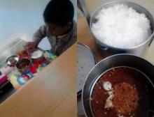 อนาถใจ! เด็กยากจน ทนกินข้าวกับพริกป่นผสมน้ำปลาทุกวัน