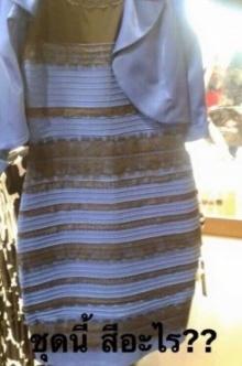 แชร์สนั่นทั้งโลก เสื้อตัวนี้..คุณเห็นเป็นสีอะไร??