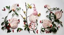 เมื่อหั่นหอมแดง…ศิลปะบนจานอาหารสุดสร้างสรรค์ก็ครีเอทขึ้นมา