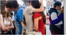 เปิดแกลเลอรี่รักบนรถไฟฟ้า ช่างภาพจีน-ใช้เวลากว่า3ปีแอบถ่ายคู่รักจูบกัน