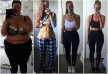 ปรบมือรัวๆๆๆ สาวลดน้ำหนัก 86 กก.ภายใน 11 เดือนโพสต์โชว์หนังเหี่ยวย่น