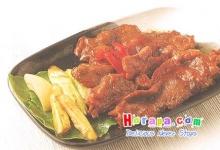 เนื้อย่างซอสญี่ปุ่น