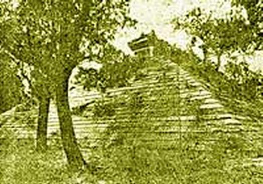 รูปถ่ายพระบรมศพ พระเจ้าเหา (น้อย) พระมหากษัตริย์ ต้นตระกูลไทยพระบรมศพนี้อยู่ ณ เมืองจูฟู มณฑลซานตุง (ซัวตัง)