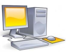 ขำขัน :คอมพิวเตอร์ มีที่วางแก้วเปล่าอ๊ะ