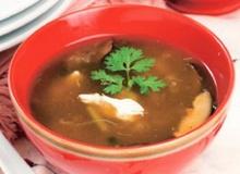 ซุปเห็ดหอมน้ำแดง