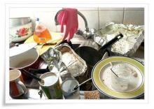 วิธีล้างคราบไขมันที่อ่างล้างจาน