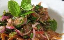 ก้อยปลาซิวทอด