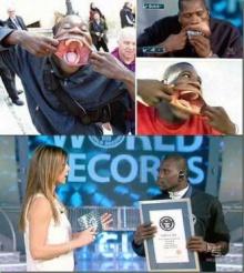 มนุษย์ปากกว้างที่สุดในโลก