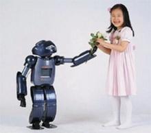 โรกุน โรบอท  หุ่นยนต์เลี้ยงเด็กโสม