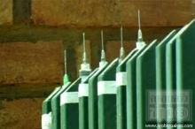 แพทย์บราซิลใช้เข็มติดเชื้อ HIV ปักรอบรั้วบ้าน