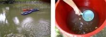 ขั้นตอนในการผลิตน้ำสะอาดสำหรับอุปโภค (น้ำใช้เท่านั้น) ด้วยตนเองในสภาวะน้ำท่วม