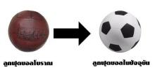 ทำไม ลูกบอลทำมาจากอะไร...แล้วทำไมต้องสีขาวดำ ?
