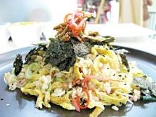 ข้าวหน้าสาหร่ายญี่ปุ่น