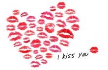 ทำนายรักจากรอยจูบ