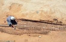 ฮือฮา นักโบราณคดีค้นพบเรือสุริยะส่งดวงวิญญาณฟาโรห์หลังความตาย