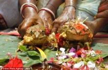 พิธีขอฝนฉบับอินเดีย จับกบแต่งงาน