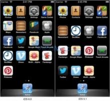 โค้ด iOS 6 ยัน iPhone 5 หน้าจอ 4 นิ้ว