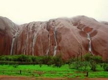 น้ำตกอูลูรูมหัศจรรย์น้ำตกสายฝนแห่งออสเตรเลีย