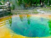บ่อน้ำพุร้อนหลากสี Morning Glory PoolMorning Glory Pool