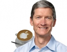"""อยากจิบกาแฟกับ """"ทิม คุก"""" CEO ของแอปเปิล !? …จ่ายเงินมา 18 ล้านบาท !!"""