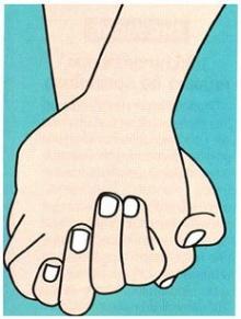 วิธีที่เขา จับมือ คุณ