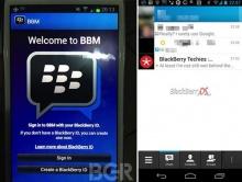 BBM ใกล้แล้วสำหรับ Android