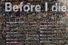 เขียนก่อนตาย ! ฮิตทั่วโลก กำแพง Before i Die
