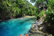 Hinatuan River แม่น้ำฮินาทวน