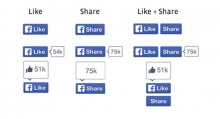 Facebook ออกแบบปุ่มไลค์ใหม่ รูปยกนิ้วหายไป