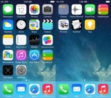 iOS 8 จะมี หน้าตาของ อินเทอร์เฟส เป็นอย่างไร มาชมกัน !