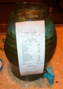 สาวกสตาร์บั๊กครีเอทเมนู สั่งกาแฟแก้วยักษ์60ช็อต แพงลิ่ว1,845บาท !!!