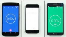 ศึกประชันความเร็ว Google Nexus 6,iPhone 6,Samsung Galaxy Note 4 ! (มีคลิป)